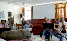 MISSION MUSICALE A NEW DELHI (INDE)